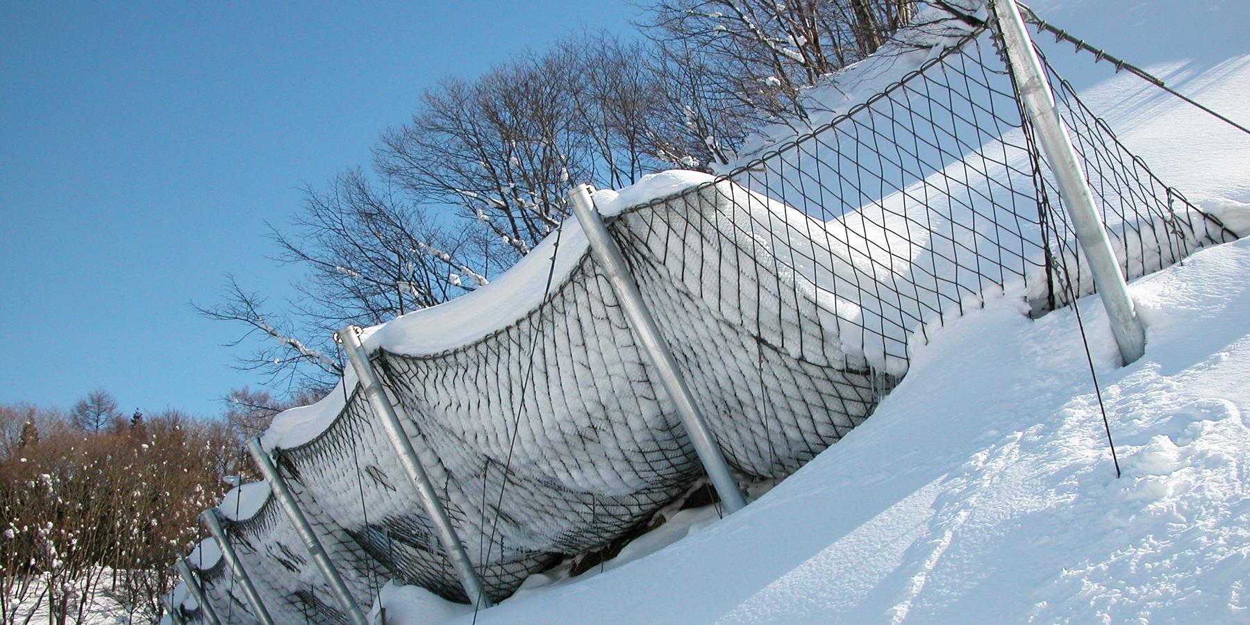 三角フェンス工法